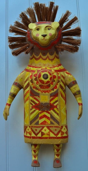 Lion Mummer. SOLD