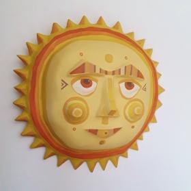 Sun Plaque. SOLD