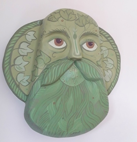 Green Man. SOLD