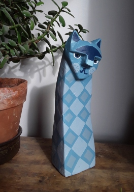 Blue Cat. SOLD