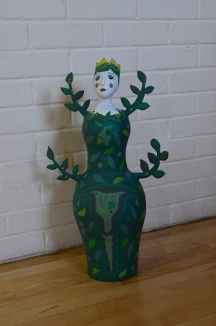Green Woman. SOLD