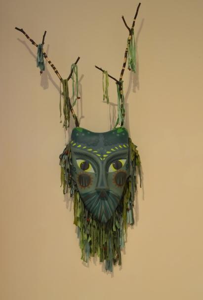 Herne Mask. SOLD